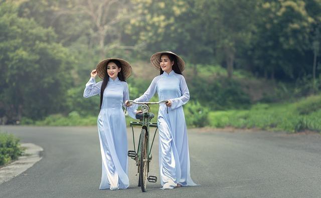 Ladies wearing Jade