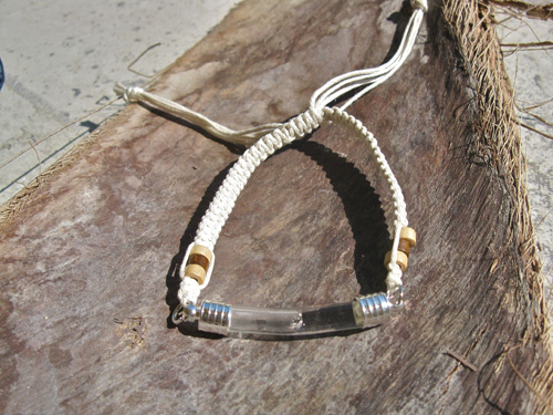 Lourdes water jewellery bracelet