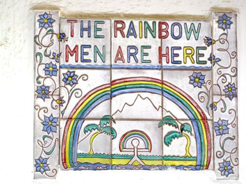 Rainbow Man symbol of good health