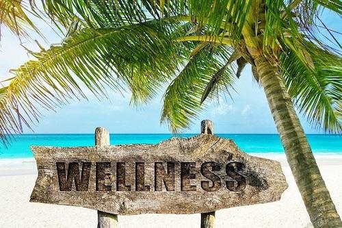 Wellness symbol sign