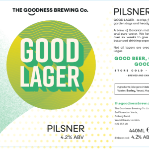 Good Lager Pilsner 4.2%