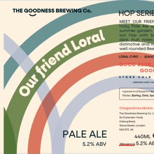 Our Friend Loral Pale Ale 5.2%