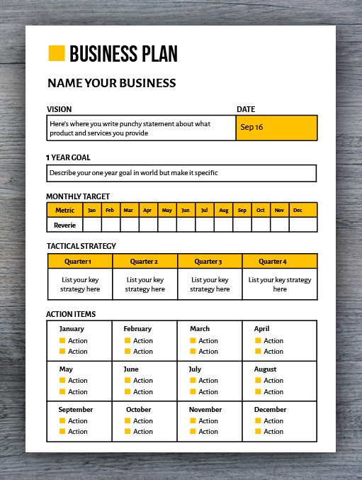 Here's a basic breakdown of what the google docs marketing plan template covers: Free Business Plan Template In Google Docs