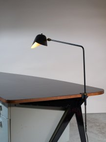 LOT 222 - SERGE MOUILLE, LAMPE DE BUREAU DITE AGRAFEE SIMPLE, 1957 - ©ARTCURIAL