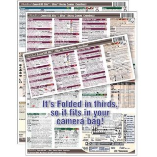 PhotoBert Photo CheatSheet for Canon EOS 5DS/5DS R Digital SLR Camera