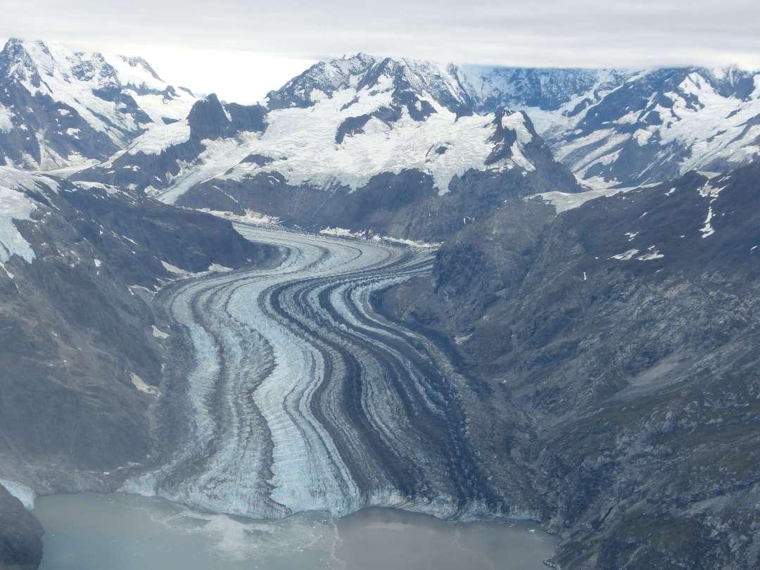 Glacier Bay tidal glacier Alaska
