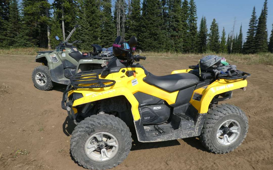 ATV'ing from West Yellowstone