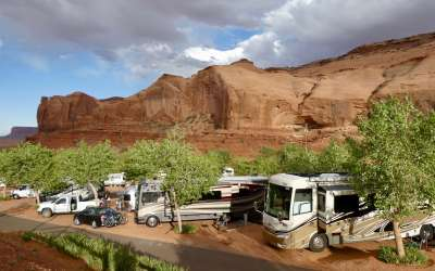 Goulding's RV Park Campground