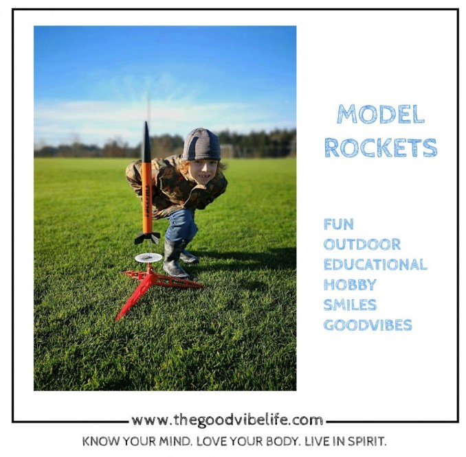 model rocket good vibes