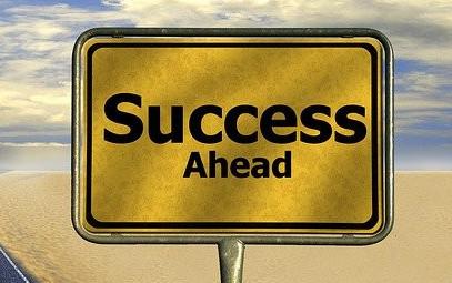 Ahead the success