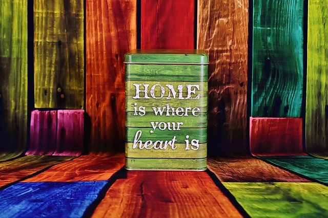 Home in the heart