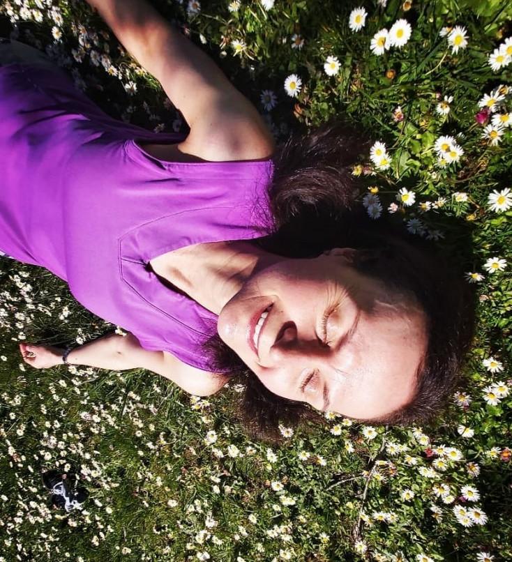 Little girl in sunshine