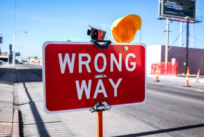 The wrong way is informational