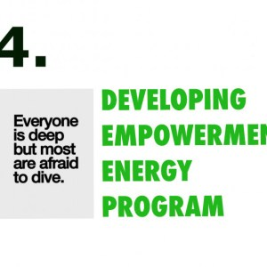 Developing empowerment energy program
