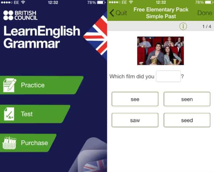 Aplikasi Bahasa Inggris LearnEnglish Grammar