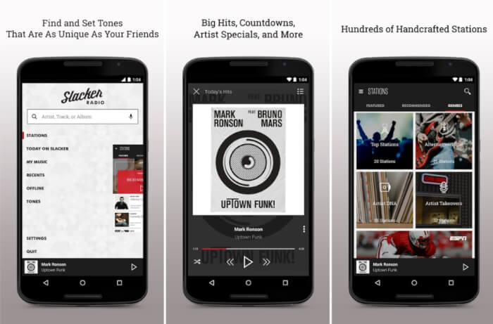 Aplikasi Musik Slacker Radio