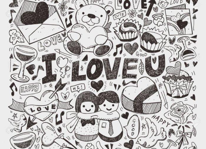 30 Gambar Doodle Art Nama Huruf  Simple Keren Mudah