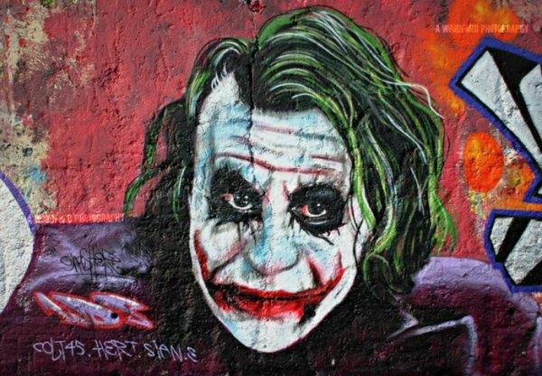 Gambar Grafiti Joker