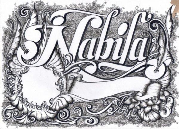Gambar Kaligrafi Nama