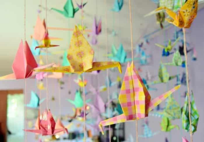 Macam – Macam Bentuk Hiasan Kelas Menggunakan Kertas Origami