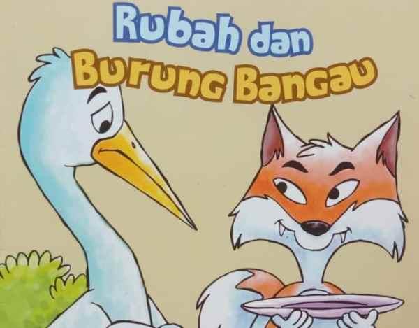 Cerita Fabel Seekor Rubah dan Bangau