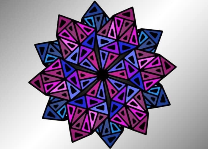 Motif Geometris