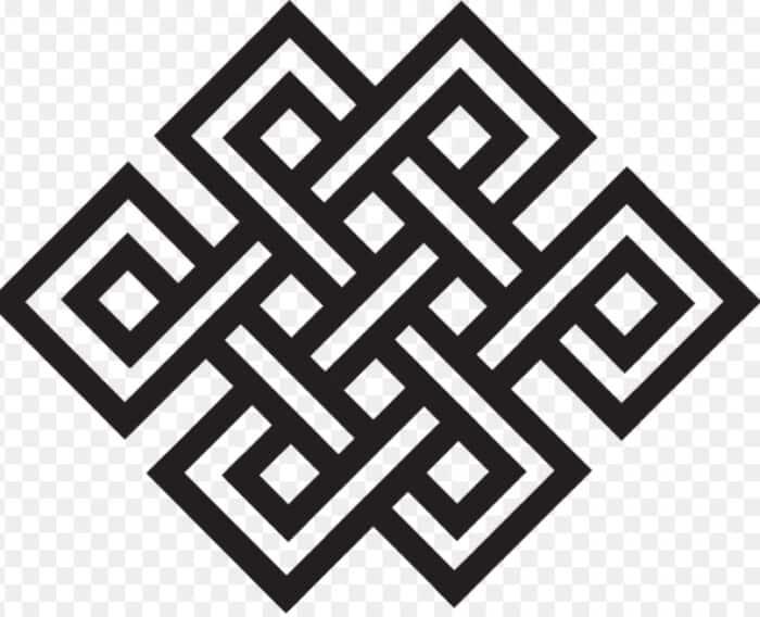 Motif Geometris Tak Berujung