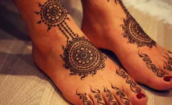 Motif Henna Arab