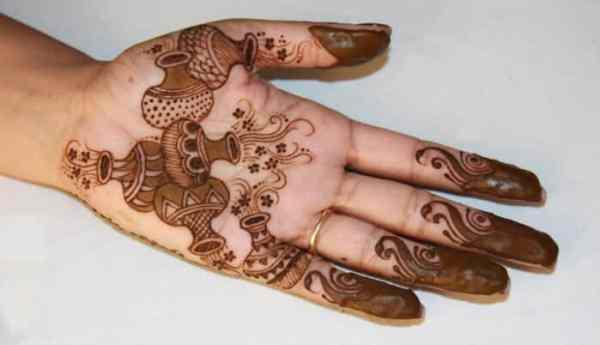 Motif Henna Kendi