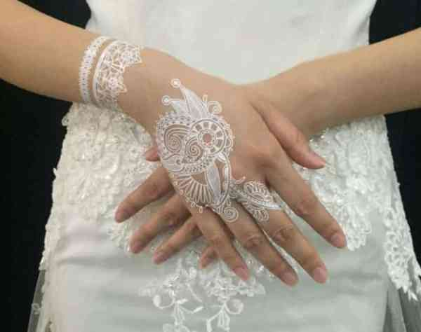 Motif Henna Pernikahan