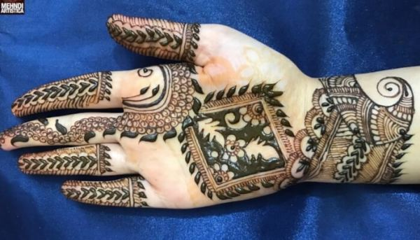 Motif Henna Sulit