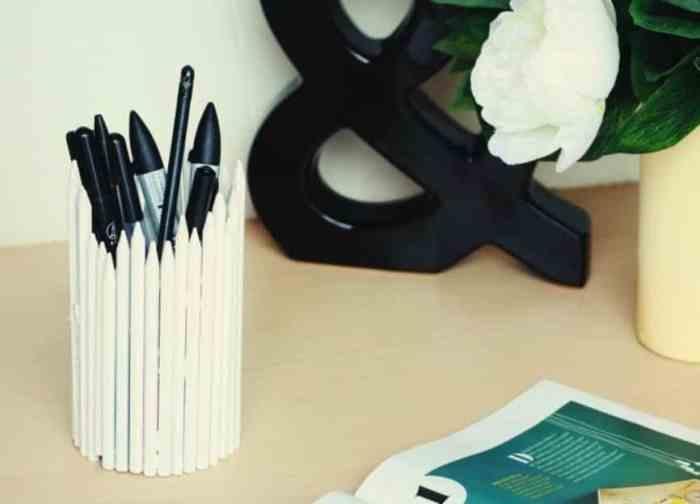 Gambar Abstrak Pensil