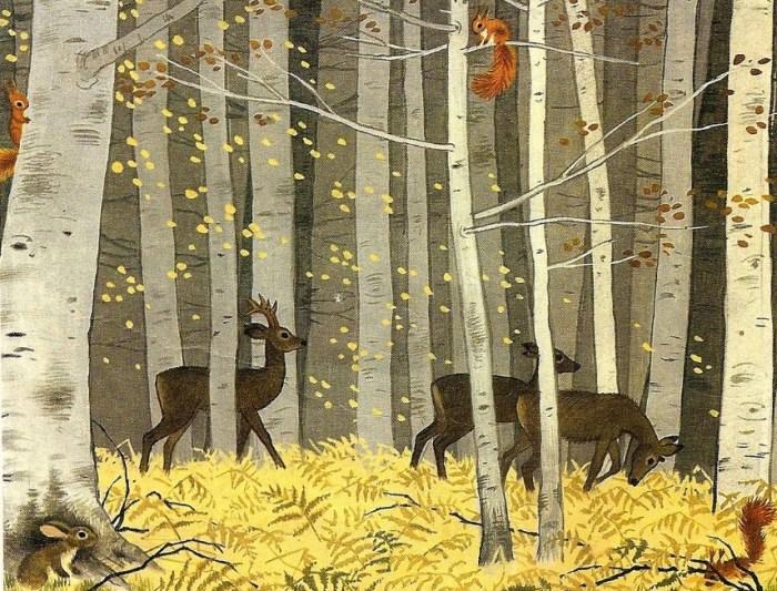 Gambar Ilustrasi Hutan