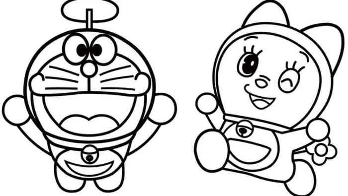 Gambar Sketsa Kartun