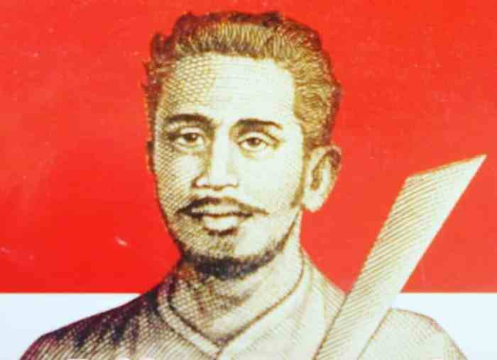 Pattimura - Pahlawan Nasional