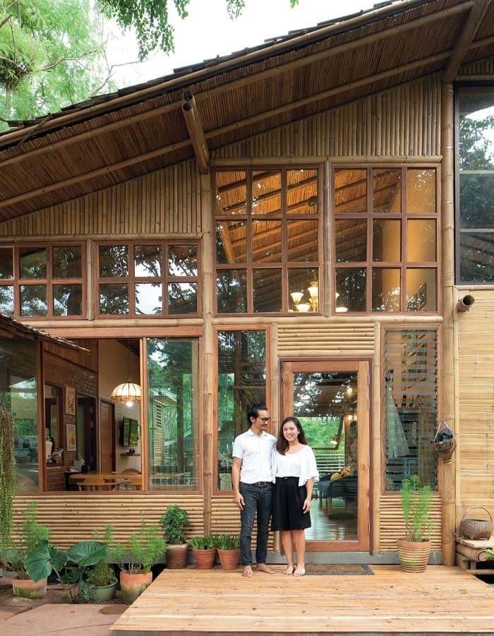 Desain Rumah Bambu : desain, rumah, bambu, Desain, Rumah, Bambu, Ramah, Lingkungan, Thegorbalsla