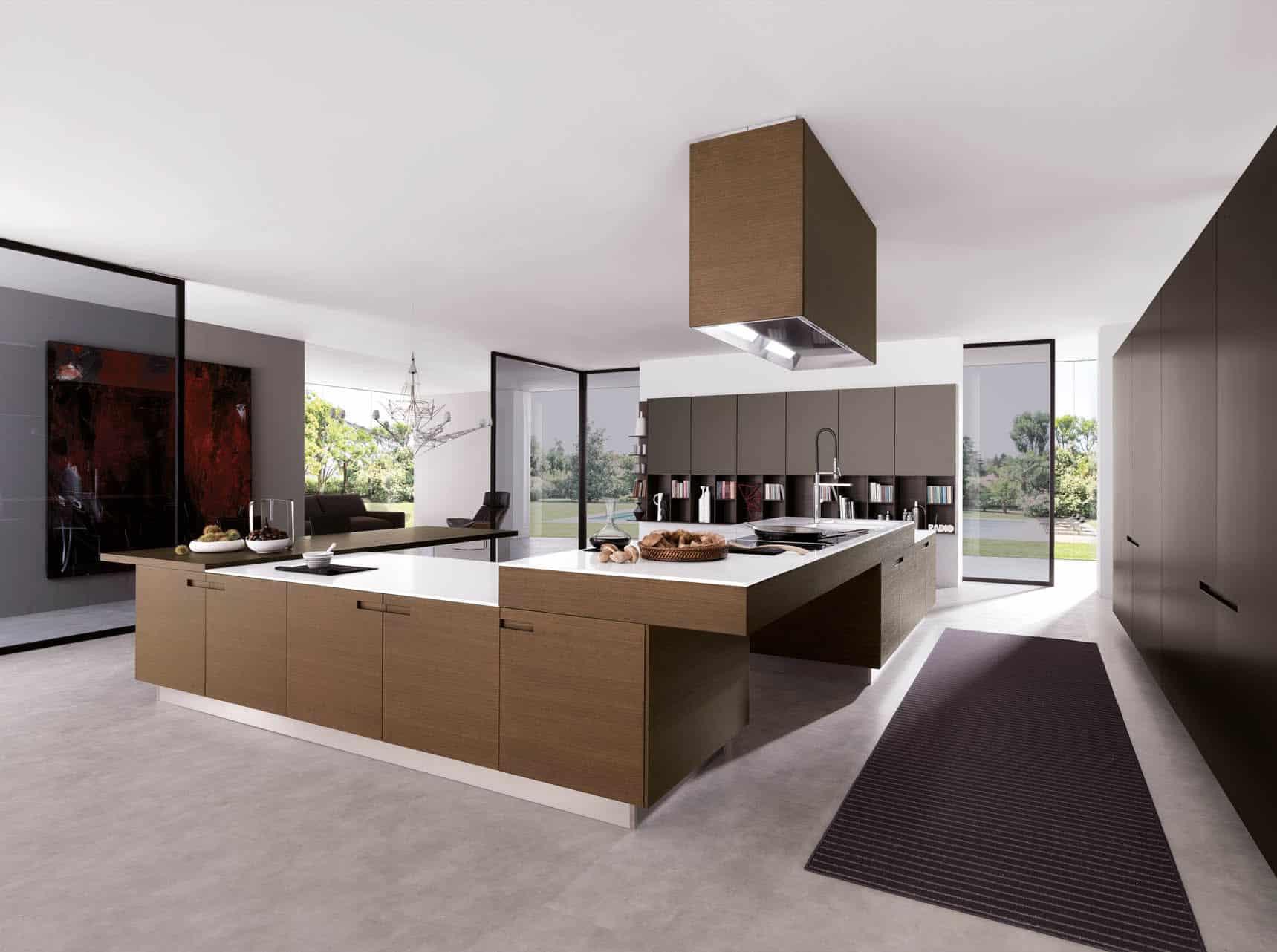 Desain Dapur Dari Beton Bentuk L Cek Bahan Bangunan