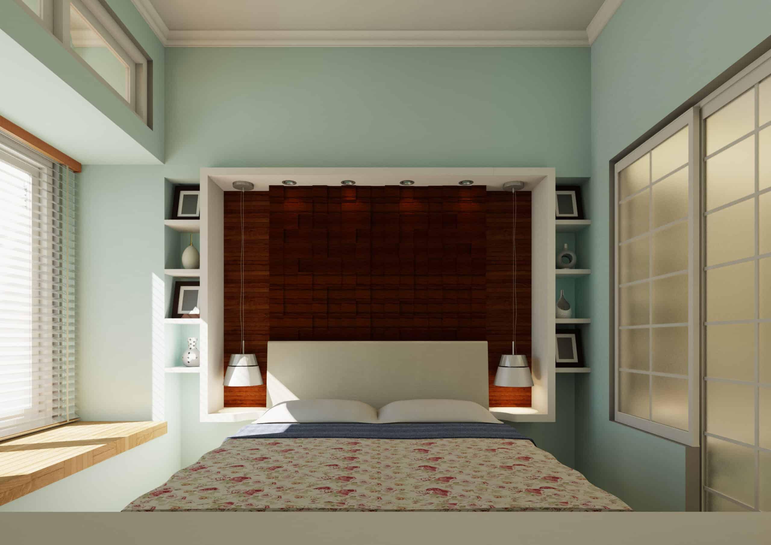 Desain Kamar Tidur Dengan Pencahayaan Optimal