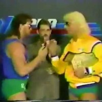 KAYFABE THEATER: The Horsemen bully Brad Armstrong, because... they can.