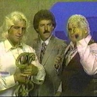 KAYFABE THEATER: Dusty Rhodes teaches Ric Flair about the Bullrope Match
