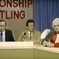 KAYFABE THEATER: Kevin Sullivan throws ink on Dusty Rhodes' Sister