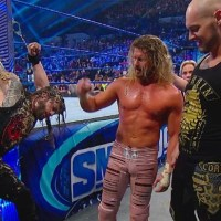 SMACKDOWN - 12.06.2019: King Corbin chains up Roman Reigns