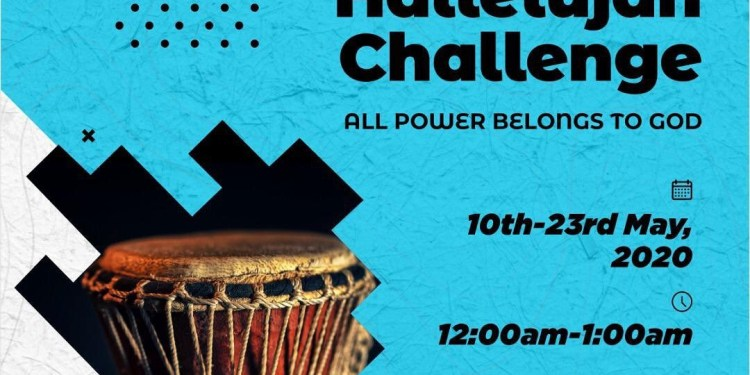 HALLELUJAH CHALLENGE FLYER