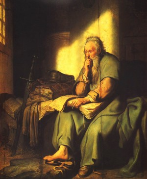 Rembrandt-Paul-In-Prison
