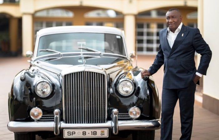 PHOTOS: A Look At The Expensive Garage Of Dr Osei Kwame Despite's Brother, Dr Ernest Ofori Sarpong