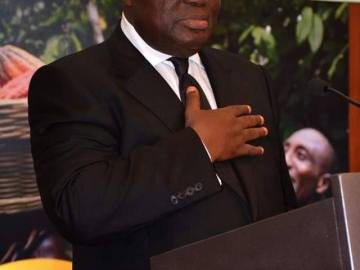 President Nana Akufo-Addo rushed to Nyaho medical centre
