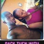 Throwback photo of Davido's girlfriend, Chioma and ex-boyfriend