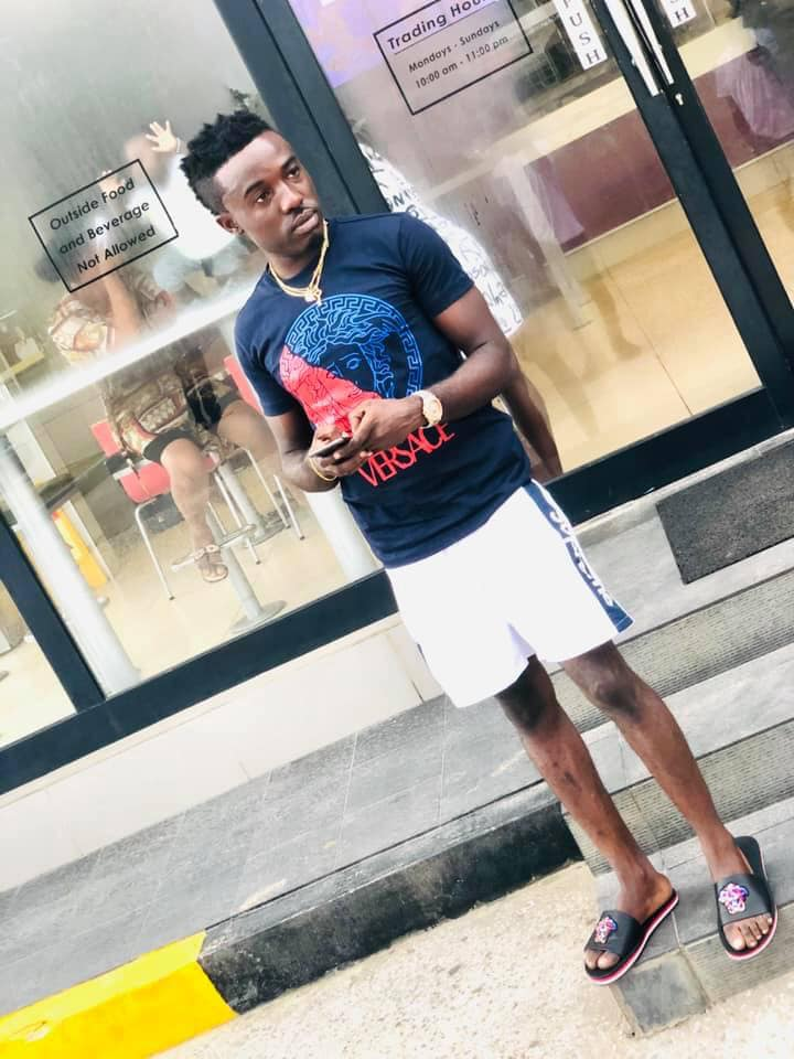 Bleached skin photos of Criss Waddle