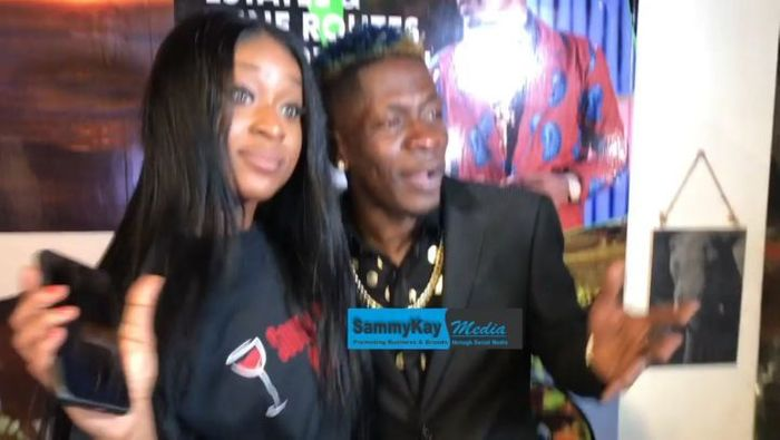 Shatta Wale Exposes Efia Odo; Reveals She's Not The Owner Of South Africa Wines Shop