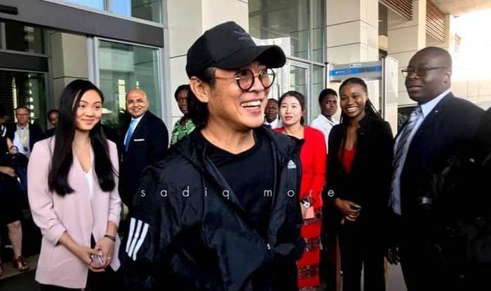 Popular Chinese Actor, Jet Li Arrives In Ghana